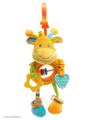 Развивающая игрушка Жирафик Жирафики. Цвет: оранжевый