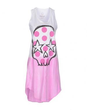 Короткое платье GORGEOUS. Цвет: фуксия