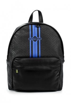 Рюкзак Versace Jeans. Цвет: черный