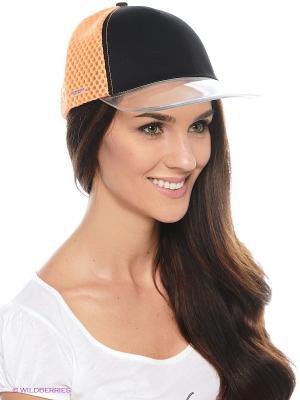 Кепка SEEBERGER. Цвет: оранжевый, черный