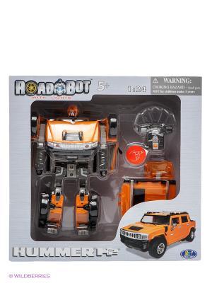 Робот-трансформер Hummer H2 Happy Well. Цвет: оранжевый