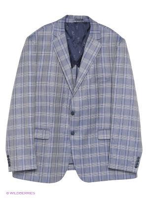 Пиджак IFC. Цвет: голубой