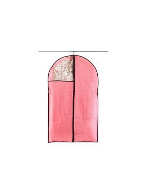 Чехол для одежды подвесной Звезды розовый EL CASA. Цвет: розовый