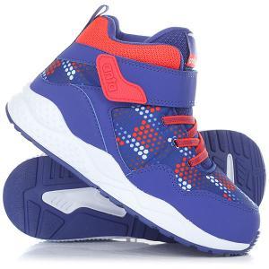 Ботинки зимние детские Anta W31749941-2 Blue. Цвет: синий,оранжевый