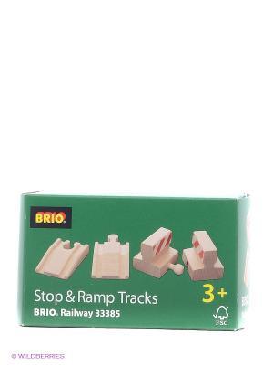 Набор с подъемами и тупиками BRIO. Цвет: прозрачный