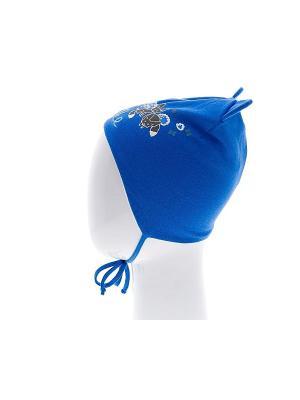 Шапка REIKE. Цвет: синий