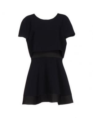 Короткое платье MAJE. Цвет: темно-синий