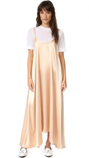 Платье Cleo VEDA. Цвет: шампанское