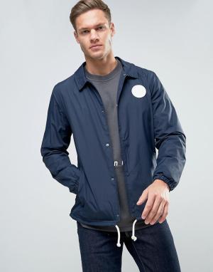 Jack & Jones Спортивная куртка Originals. Цвет: темно-синий