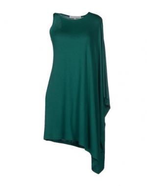 Короткое платье AMAYA ARZUAGA MAILLE. Цвет: зеленый