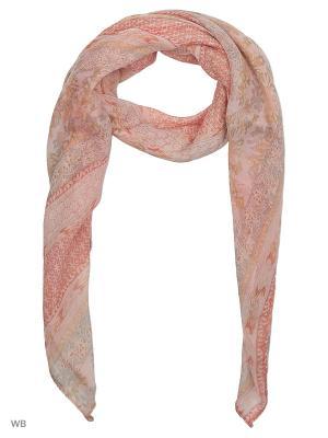 Платок Vita pelle. Цвет: розовый, серый