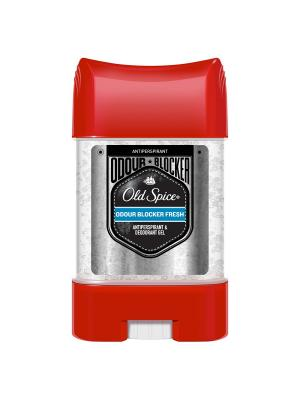 Old Spice Гелевый дезодорант-антиперспирант Odour Blocker Fresh 70 мл. Цвет: красный