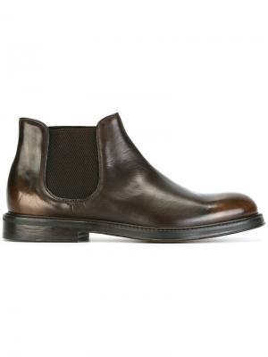 Ботинки Delave Doucals Doucal's. Цвет: коричневый