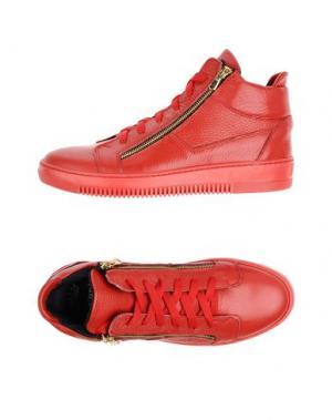 Высокие кеды и кроссовки NBR¹. Цвет: красный