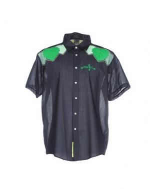 Pубашка 55DSL. Цвет: темно-синий