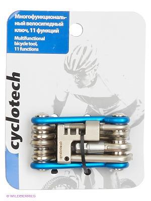 Мультиключ велосипедый Cyclotech. Цвет: белый
