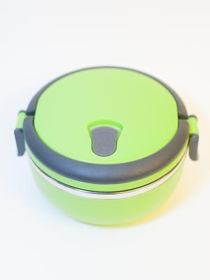 Ланч-бокс 14см, 1 отделение, 0,7л Vetta. Цвет: зеленый