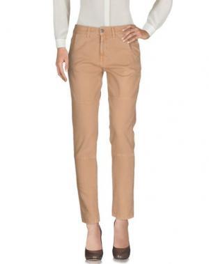 Повседневные брюки MASSIMO ALBA. Цвет: телесный