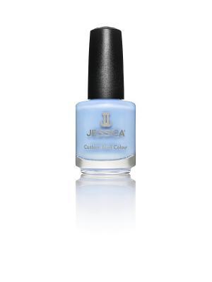 Лак для ногтей  # 747 Sophia True Blue, 14,8 мл JESSICA. Цвет: голубой