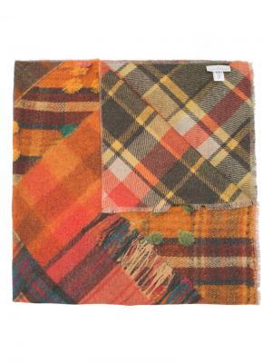 Клетчатый шарф Pierre-Louis Mascia. Цвет: многоцветный