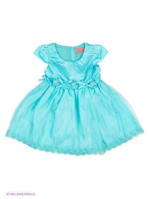Платье Wonderland. Цвет: бирюзовый