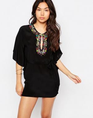 Meghan Fabulous Платье-туника Phoebe. Цвет: черный