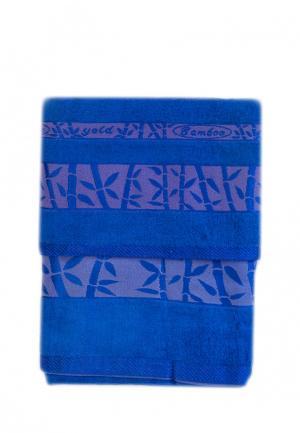Комплект полотенец 2 шт. La Pastel. Цвет: синий