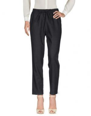Повседневные брюки AGLINI. Цвет: стальной серый