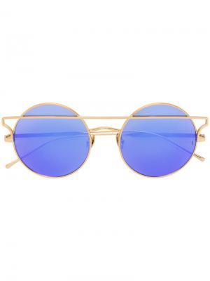 Солнцезащитные очки Matilda Sunday Somewhere. Цвет: розовый и фиолетовый