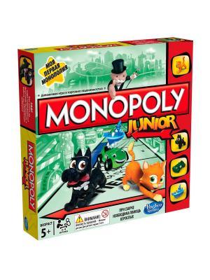 Моя первая Монополия Hasbro. Цвет: серо-коричневый