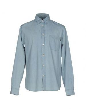 Джинсовая рубашка PAUL SMITH JEANS. Цвет: синий
