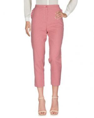 Повседневные брюки VAPOFORNO MILANO. Цвет: красный