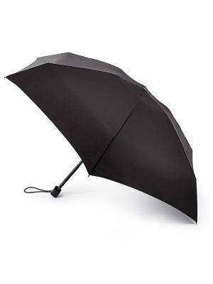 Зонт мужской механика Fulton. Цвет: черный
