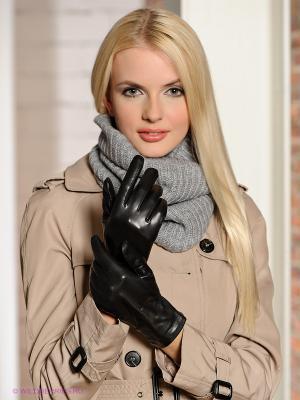 Перчатки Isotoner. Цвет: черный