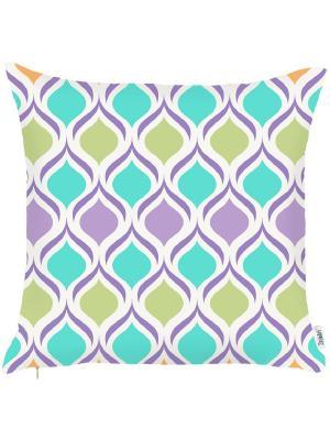Чехол для декоративной подушки Green magic Apolena. Цвет: голубой