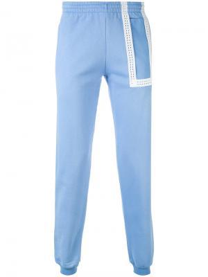 Спортивные брюки Hotel Cottweiler. Цвет: синий
