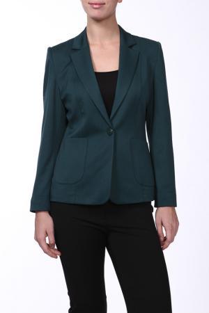 Жакет SHN. Цвет: темно-зеленый