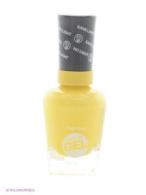 Гель лак для ногтей Miracle Gel, Тон 769 gigabryte SALLY HANSEN. Цвет: светло-желтый