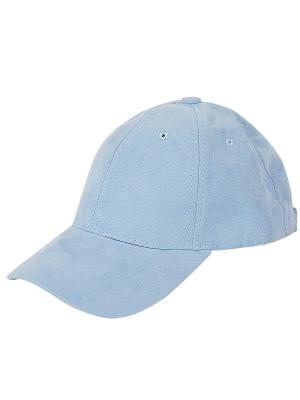 Кепка бархатная (голубая) Kawaii Factory. Цвет: светло-голубой