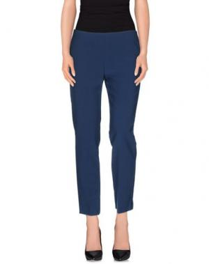 Повседневные брюки JO NO FUI. Цвет: грифельно-синий