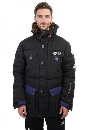 Куртка парка  Leno Real Black Picture Organic. Цвет: черный
