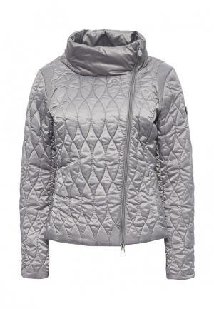 Куртка утепленная EA7. Цвет: серый