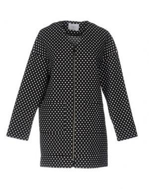 Легкое пальто AXARA PARIS. Цвет: черный