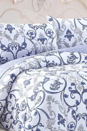 Постельное белье Дуэт, 70х70 Jardin. Цвет: белый, сиреневый