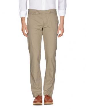 Повседневные брюки D-21. Цвет: бежевый