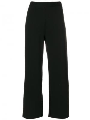 Укороченные строгие брюки Pierantoniogaspari. Цвет: чёрный