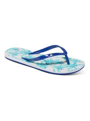Пантолеты ROXY. Цвет: синий,голубой