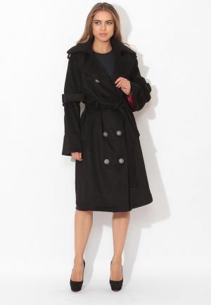 Пальто Tutto Bene. Цвет: черный