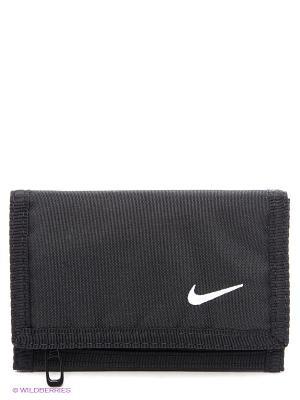 Кошелек Nike. Цвет: черный
