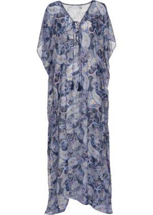 Пляжное платье (синий/лиловый) bonprix. Цвет: синий/лиловый